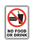 No Food or Drink Allowed at Games