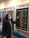 Samantha Fischer Breaks 23-Year-Old School Record in Diving!