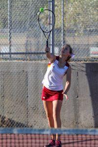 Girls Tennis Pictures vs Union/Gunnison 2018-2019