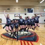 8th Grade Girls Volleyball team remains undefeated
