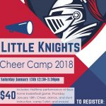 Little Knights Cheer Camp