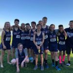 Middle School Cross Country Wins Individual Girls Title, Team Boys Title at League Championships at Vancouver Lake Park