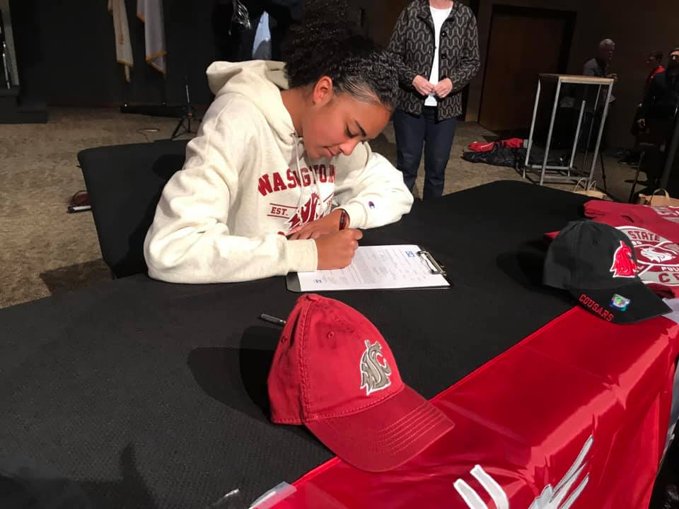 MacK Ellertson's official signing ceremony for WSU