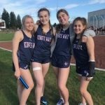 First League Meet of the Season for Varsity Track