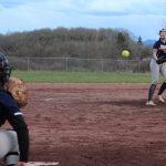 Varsity Softball Double Header at Toledo High School