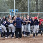 KW Varsity Softball First Home Run in Program History!