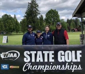 Varsity Girls Golf State Championships and Season