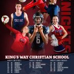 KW Fall Athletics Calendar