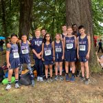Middle School Boys' Cross Country Take 2nd Place!