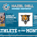 Time to recognize the Hazel Dell Modern Dentistry December Athletes of the month…