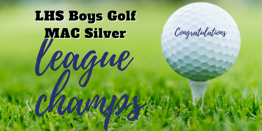 Varsity Golf 2018 Mac Silver LEAGUE CHAMPS
