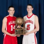 LeVan and Munson honored by state coaches