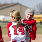 Millington High School Softball Varsity beats Mayville High School 12-1