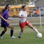 Millington High School Soccer Varsity Girls beats Caro High School 5-0