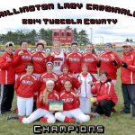 Millington High School Softball Varsity beats Sandusky High School 9-0