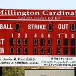 Scoreboard Thanks
