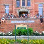 Volleyball Team at Tiffin University