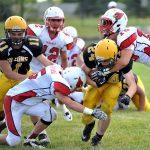 Millington High School Football Varsity beats LakeVille High School 49-6