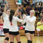 Millington High School Volleyball Varsity falls to Birch Run High School 3-0