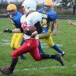 Millington High School Junior Varsity Football beat Rams 28-26