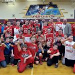 Millington High School Boys Varsity Basketball falls to Beecher High School 56-75