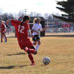 Millington High School Girls Varsity Soccer beat Laker High School 8-1