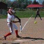 Millington High School Varsity Softball beat Bridgeport High School 17-1