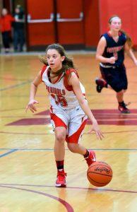 Varsity Girls Basketball vs USA