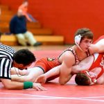 Three Wrestlers place at New Lothrop