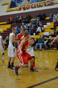 Varsity Boys Basketball vs Reese