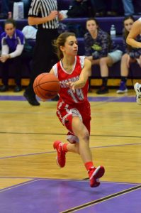Varsity Girls Basketball vs Caro