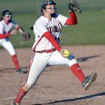 Millington High School Varsity Softball beat Bullock Creek High School 9-0
