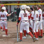 Millington High School Varsity Softball beat LakeVille High School 16-0