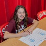 Haley Trickey signs with Alma College