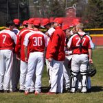 Millington High School Varsity Baseball beat Caro High School 2-0