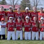 Millington High School Varsity Softball beat LakeVille High School 9-0