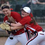 Millington High School Varsity Softball beat Bay City Western High School 8-4