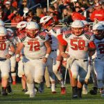 Millington High School Varsity Football beat Bridgeport High School 35-24