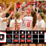 Millington High School Girls Varsity Volleyball falls to Birch Run Middle/High School 3-0
