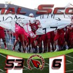 Millington High School Varsity Football beat Ursuline 53-6