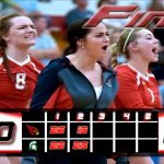 Millington High School Girls Varsity Volleyball falls to Pinconning High School 2-0