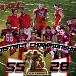 Millington High School Varsity Football beat Houghton Lake High School 55-28
