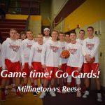 Boys Varsity Basketball falls to Reese 56 – 51
