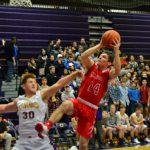 Boys Varsity Basketball beats Caro 40 – 25