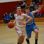 Boys Varsity Basketball falls to Garber 51 – 50