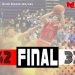 Boys Varsity Basketball beats Laker 42 – 33