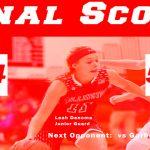 Girls Varsity Basketball beats Clio 64 – 56
