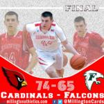 Boys Varsity Basketball beats Freeland 74 – 65
