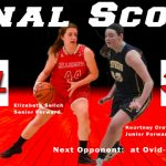 Girls Varsity Basketball beats Shepherd 41 – 37