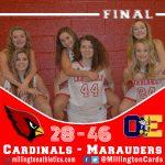 Girls Varsity Basketball falls to Ovid-Elsie 46 – 28